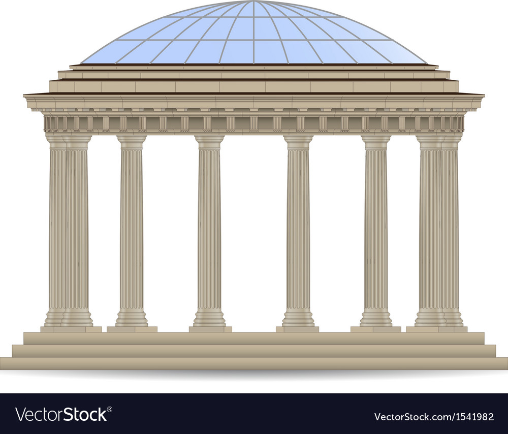 Stone rotunde vector | Price: 1 Credit (USD $1)