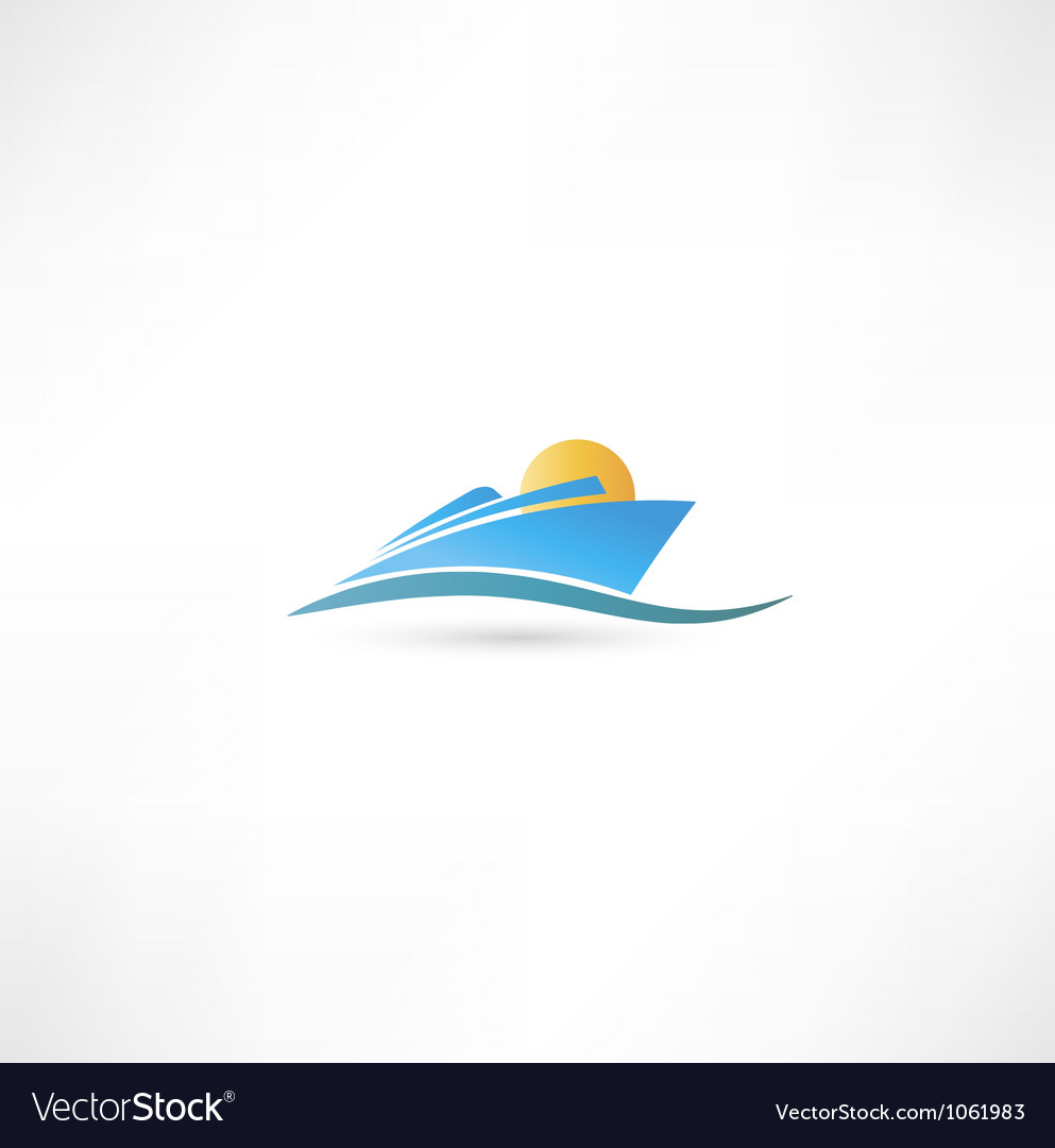 Sea liner vector | Price: 1 Credit (USD $1)