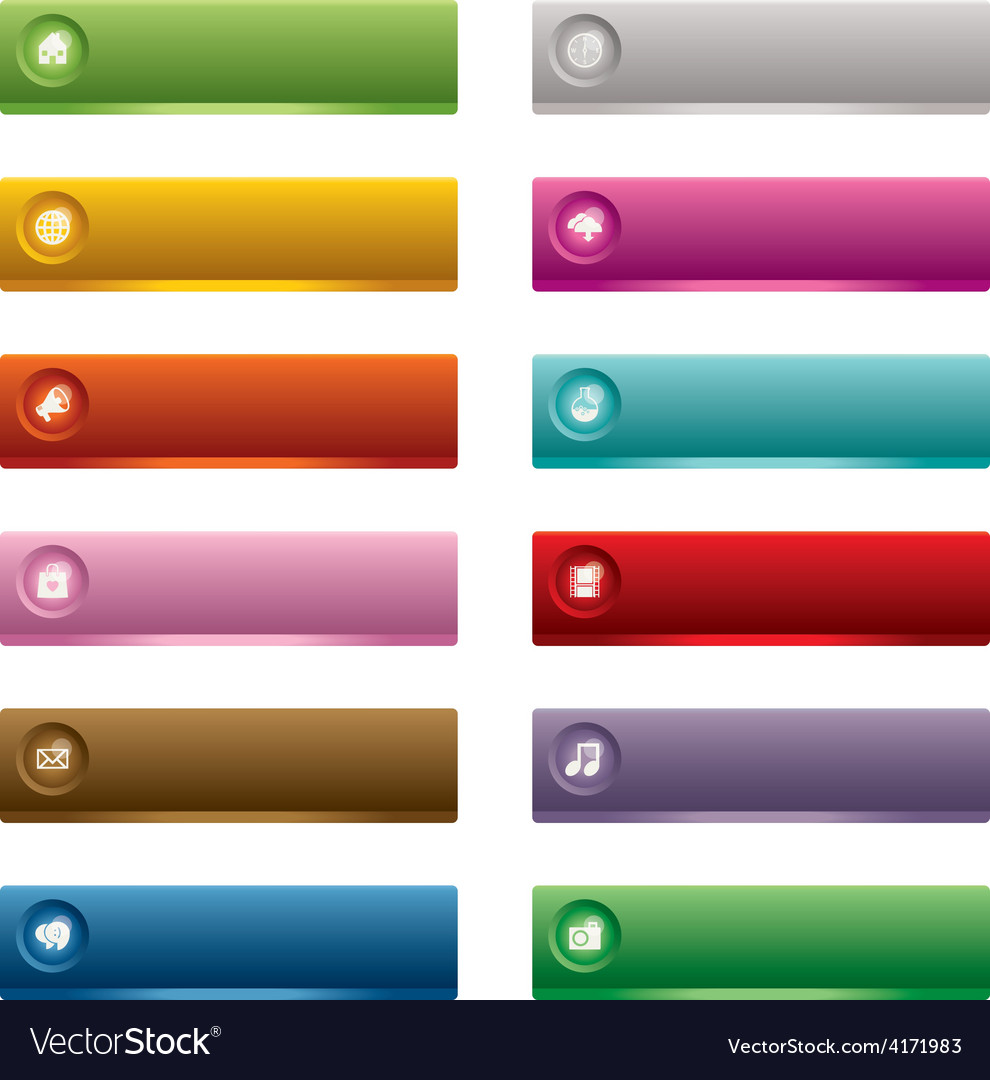 Web buttons vector   Price: 1 Credit (USD $1)