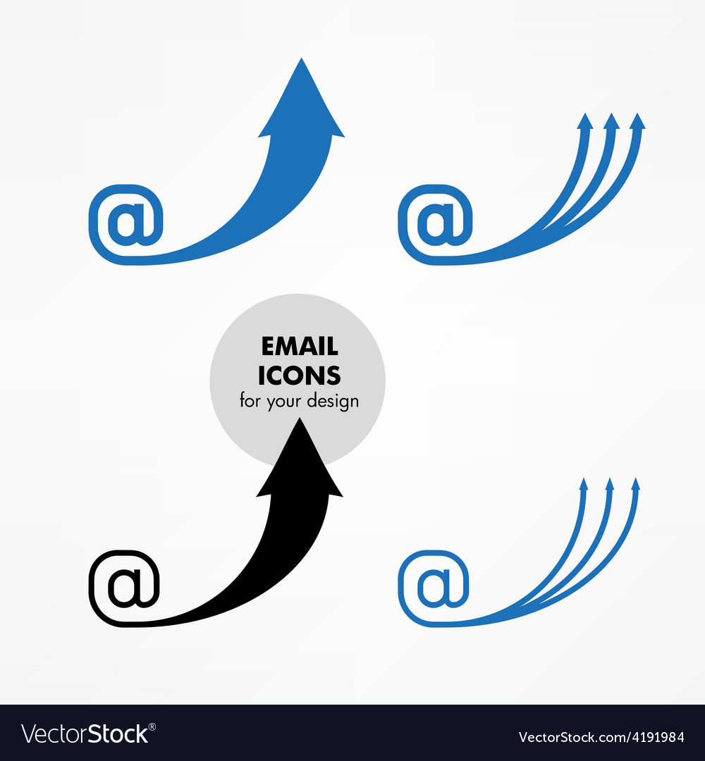 Email icons vector | Price: 1 Credit (USD $1)