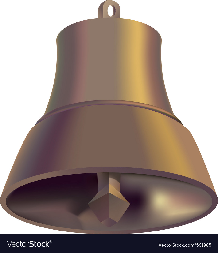 Copper handbell vector | Price: 1 Credit (USD $1)