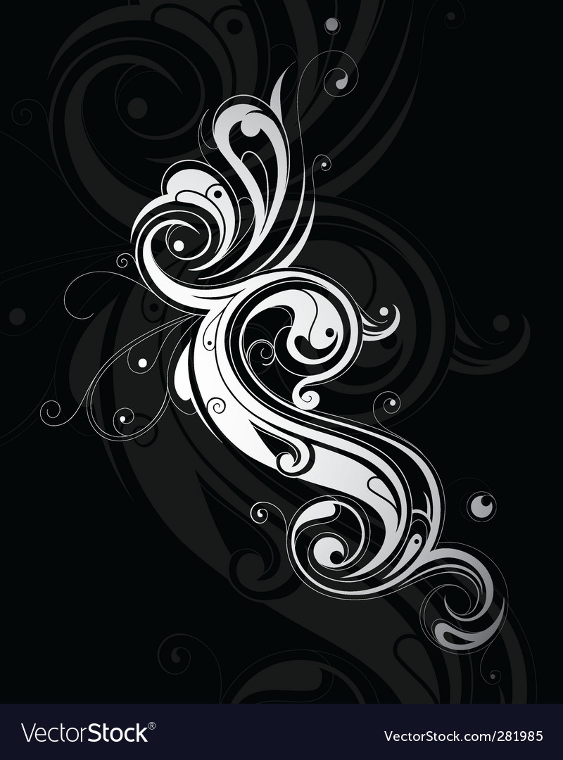 Swirl design elements vector | Price: 1 Credit (USD $1)