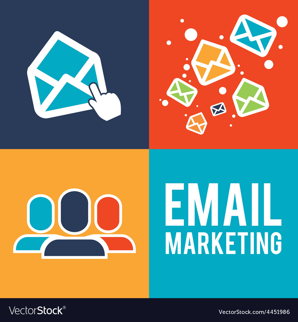 Email marketing design vector   Price: 1 Credit (USD $1)