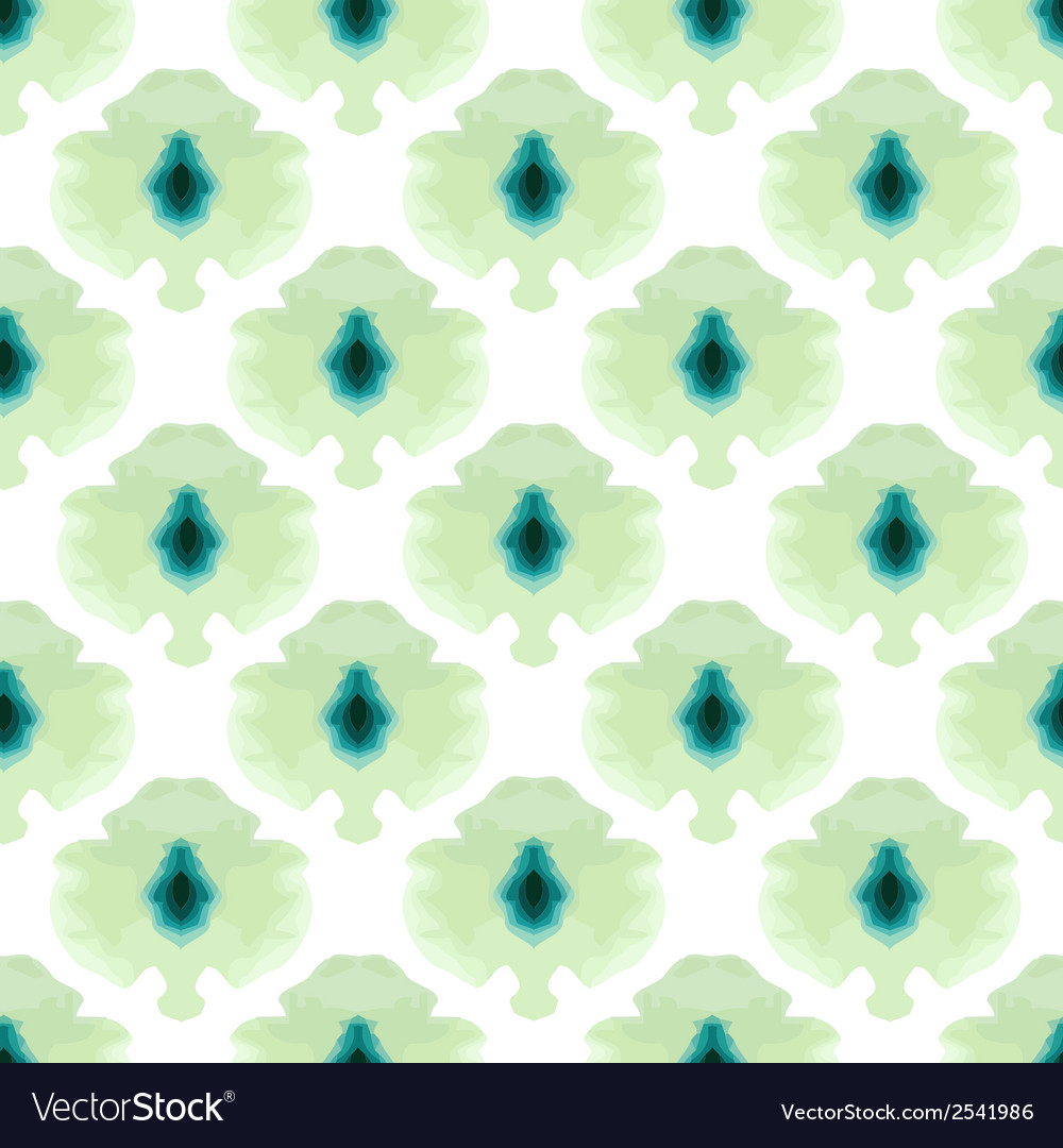 Seamless water color mosaic pattern vector | Price: 1 Credit (USD $1)