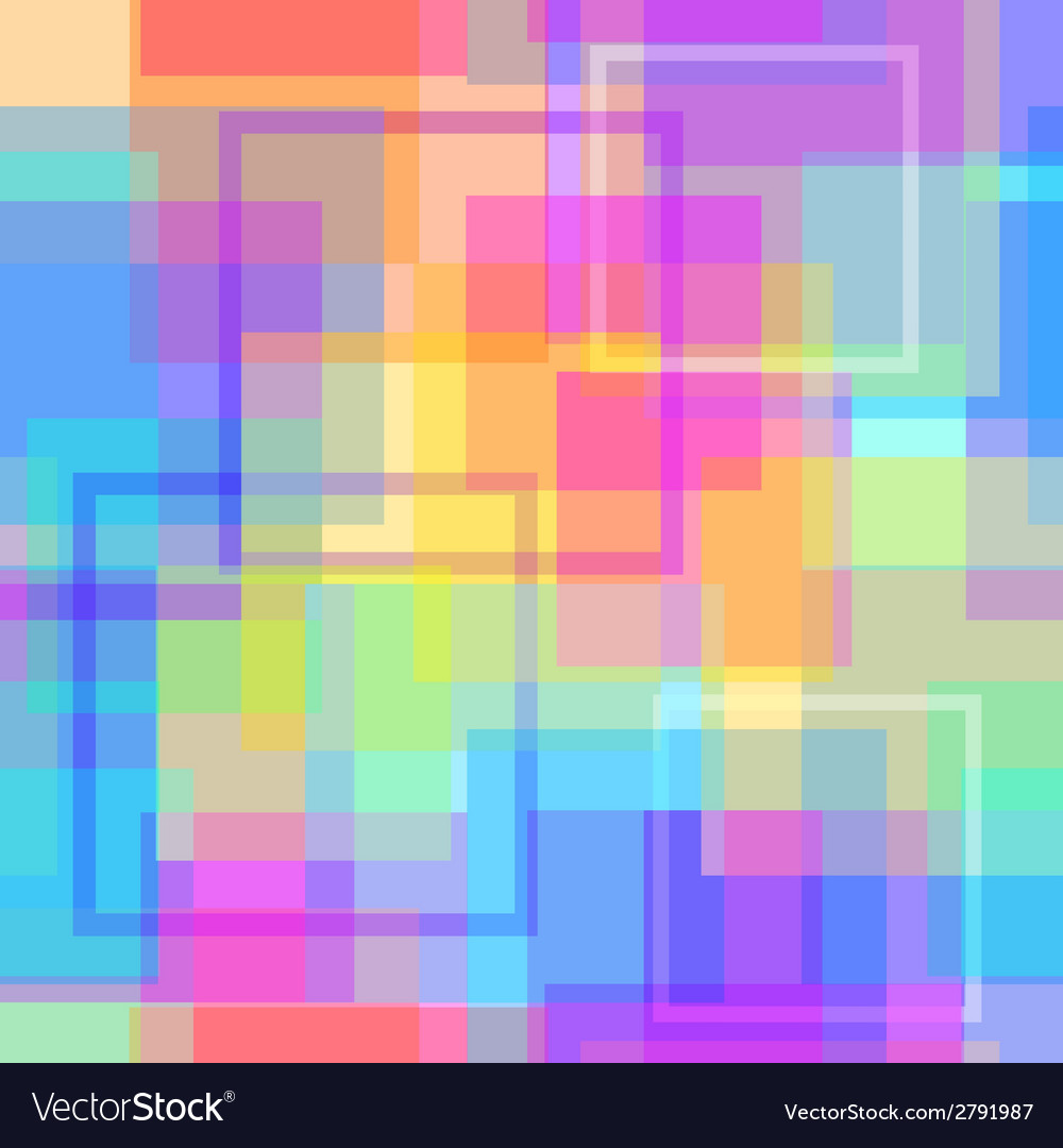 Abstract modern square pastel pixel background vector | Price: 1 Credit (USD $1)