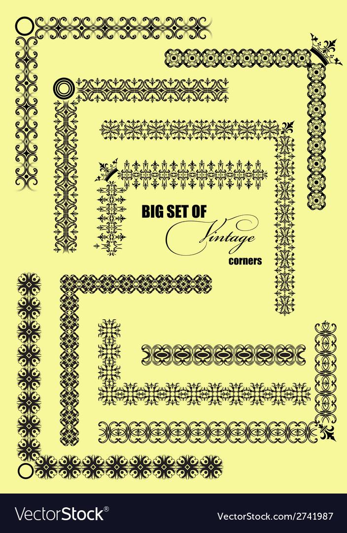 Al 0527 corners vector | Price: 1 Credit (USD $1)