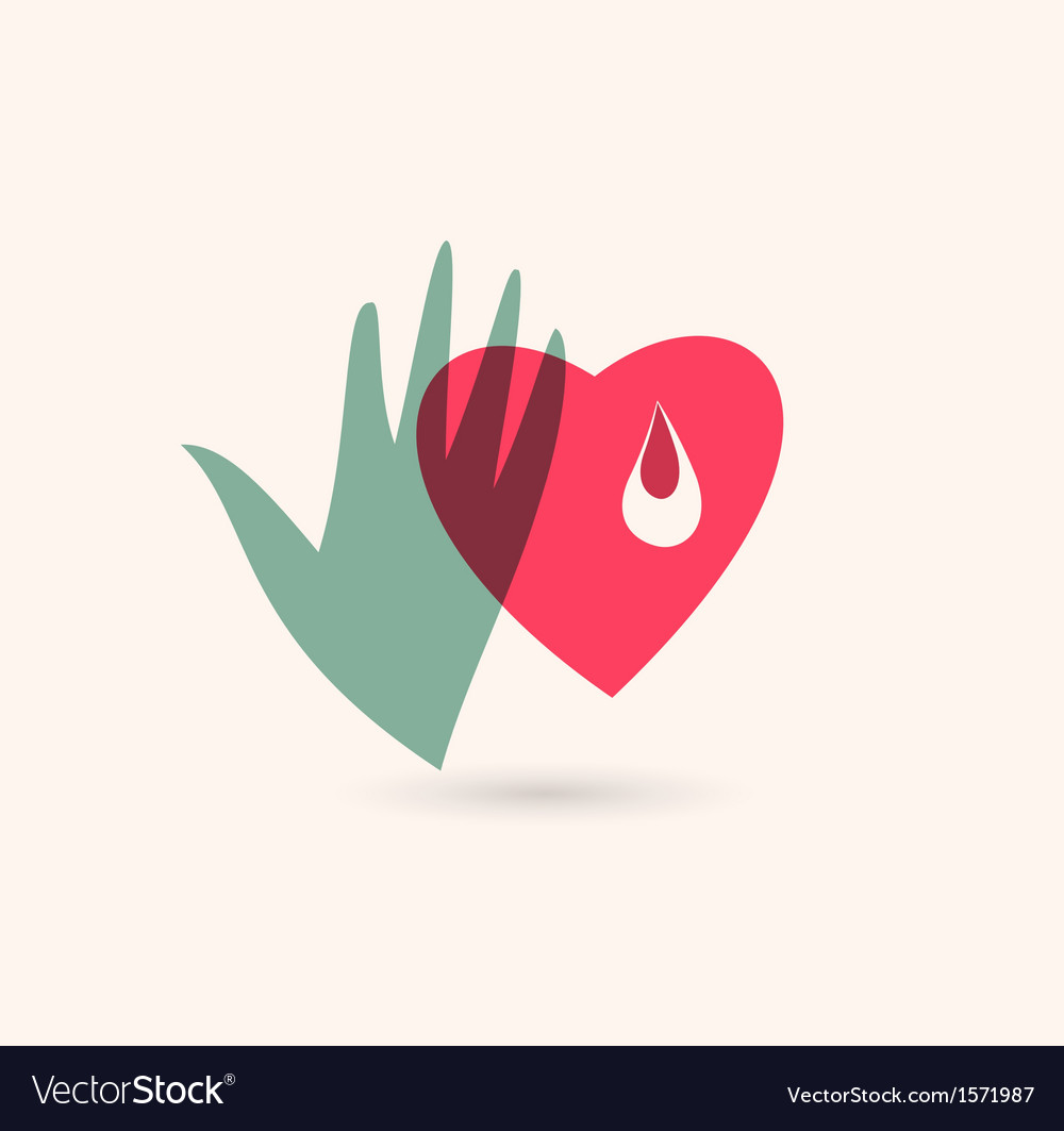 Blood donor icon vector | Price: 1 Credit (USD $1)