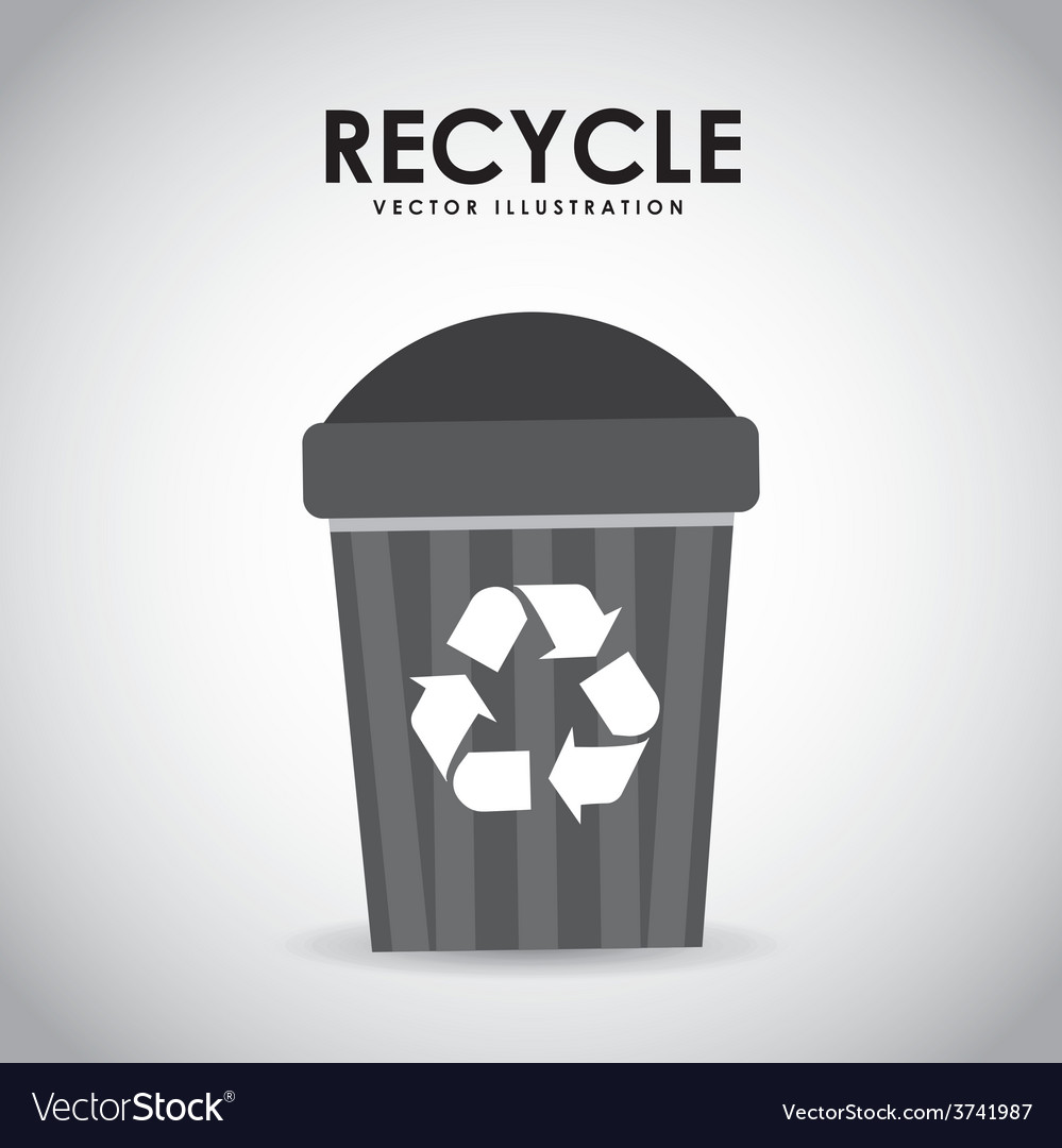 Recycle icon design vector | Price: 1 Credit (USD $1)