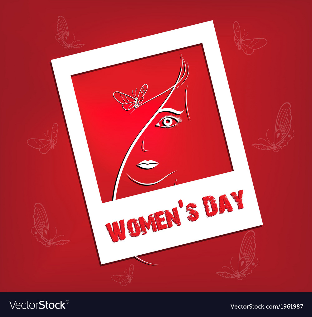 Womens day background vector | Price: 1 Credit (USD $1)