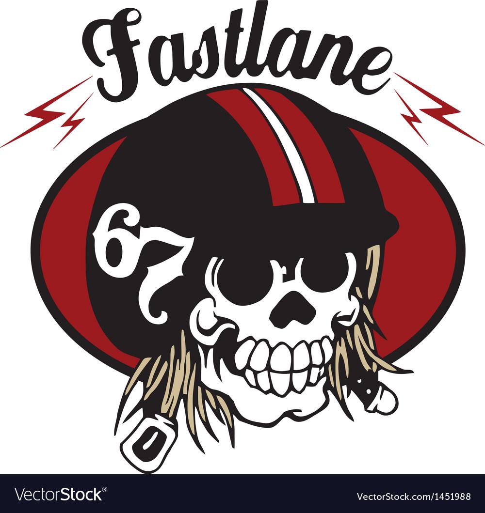 67 fast skull vector | Price: 1 Credit (USD $1)