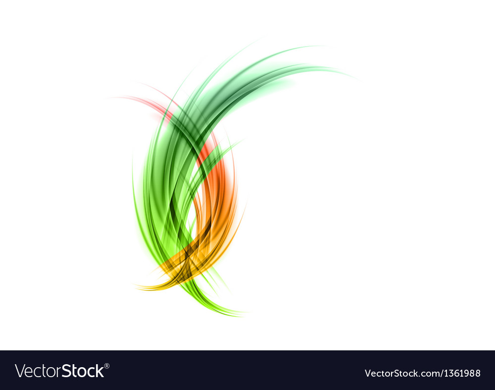 Abstract smoke green red matted vector | Price: 1 Credit (USD $1)