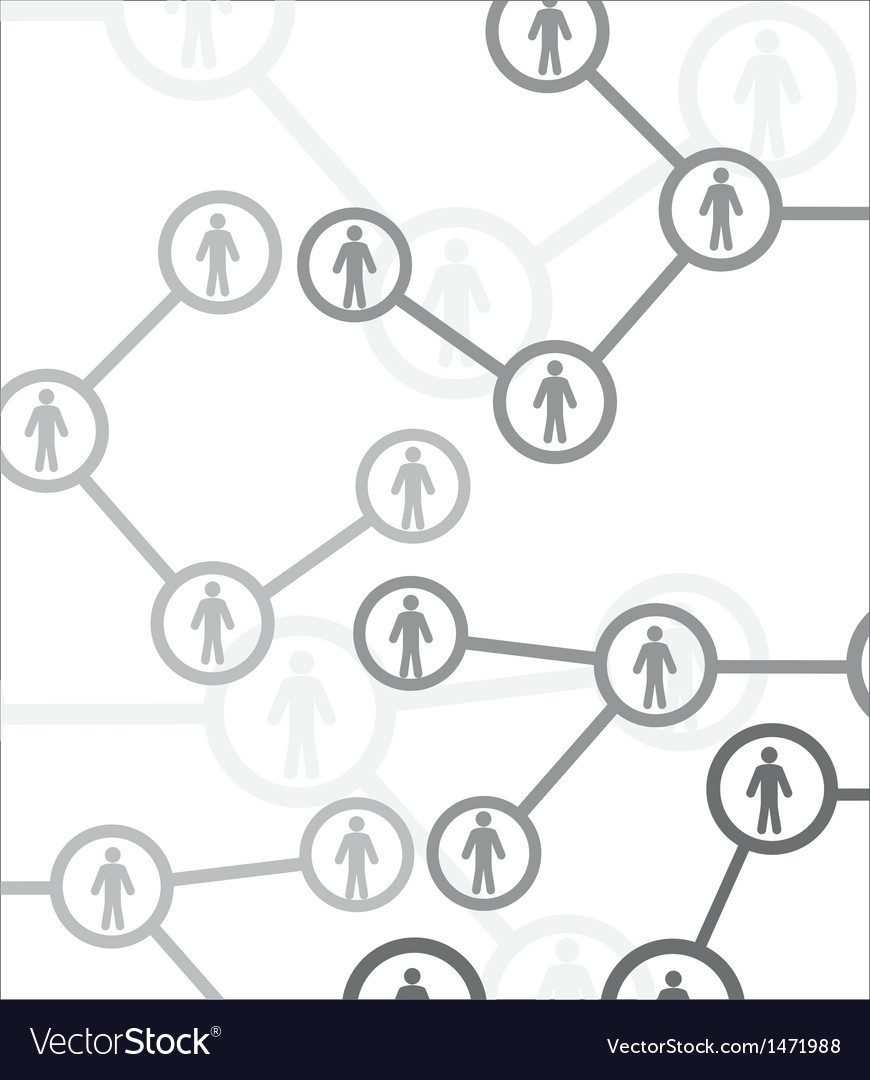 Human connection vector | Price: 1 Credit (USD $1)