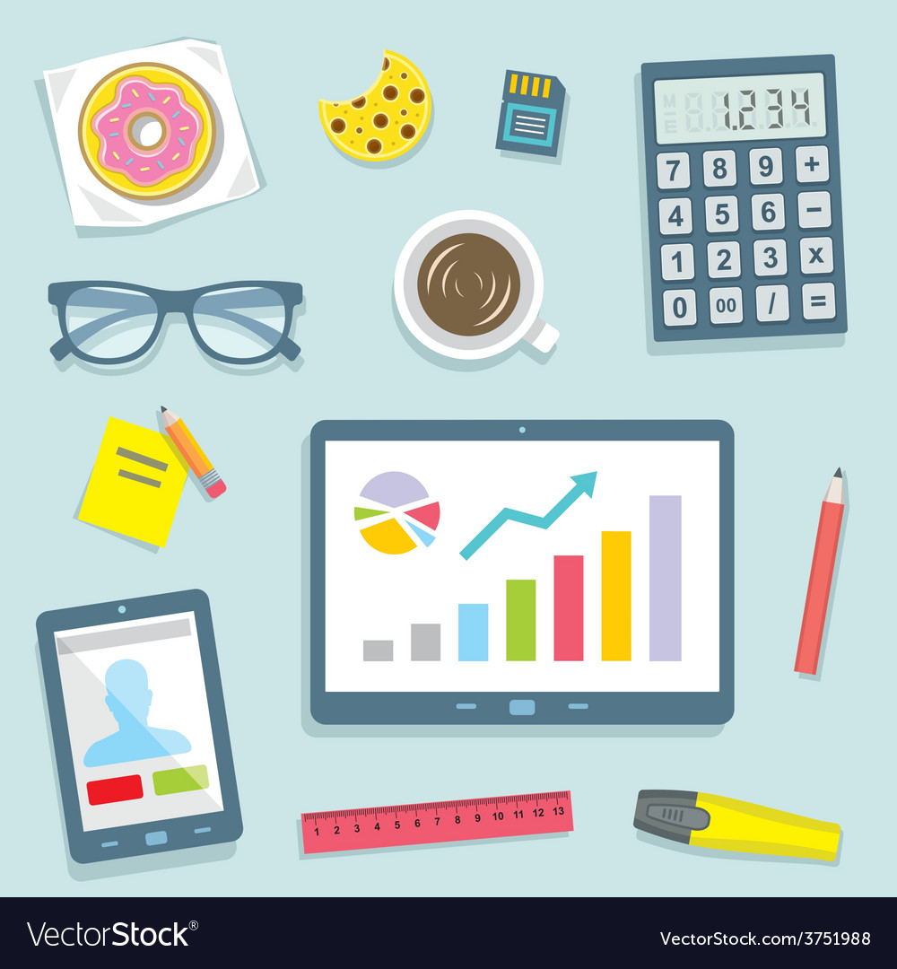 Pattern office vector | Price: 1 Credit (USD $1)