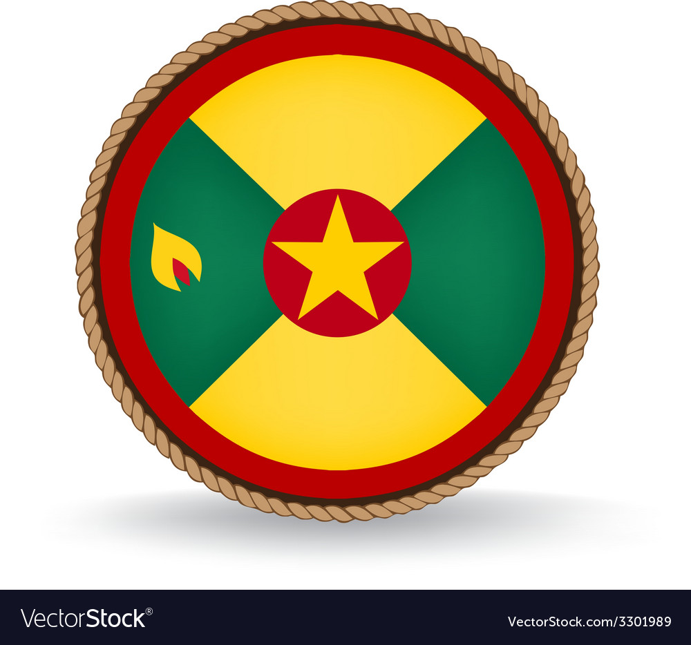 Grenada seal vector | Price: 1 Credit (USD $1)