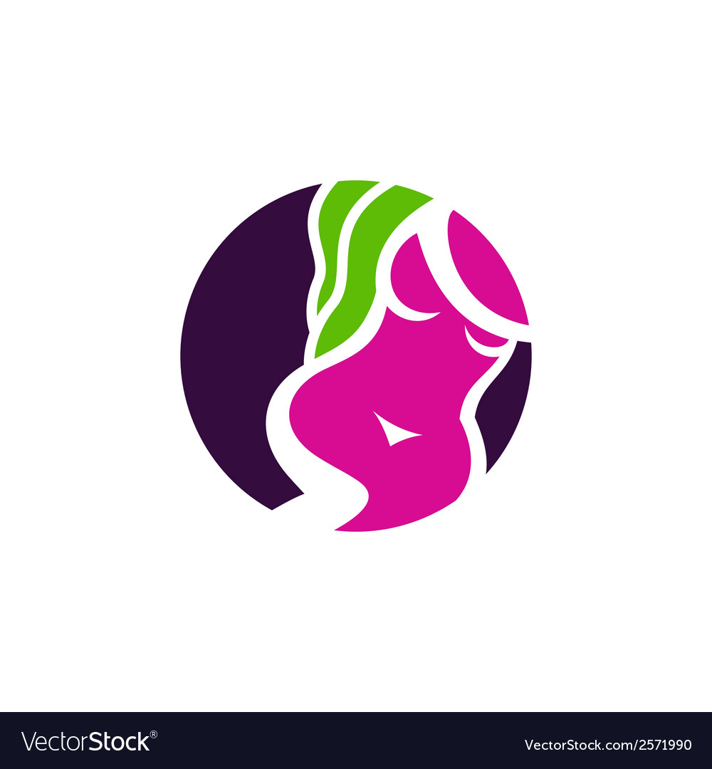 Beauty salon sign vector | Price: 1 Credit (USD $1)