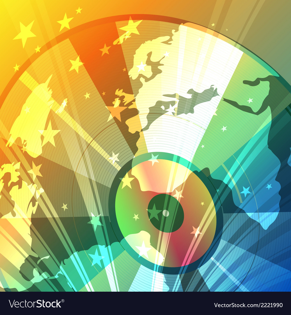 Disco globe vector | Price: 1 Credit (USD $1)