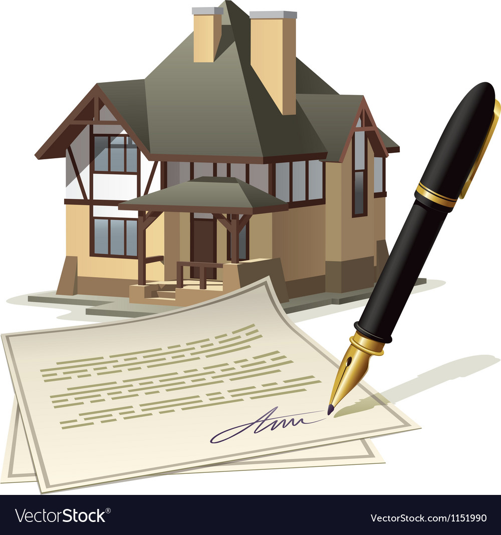 Paperwork at home vector | Price: 1 Credit (USD $1)