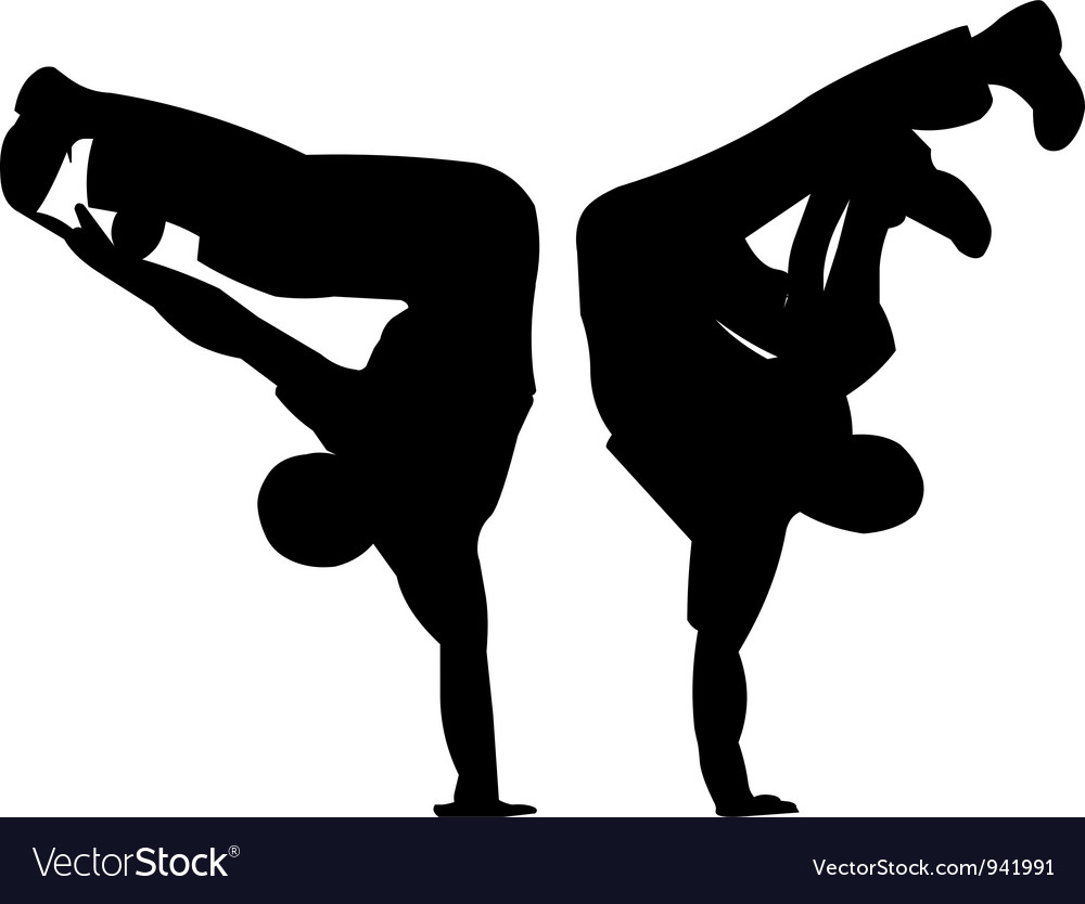 Break dancing vector | Price: 1 Credit (USD $1)
