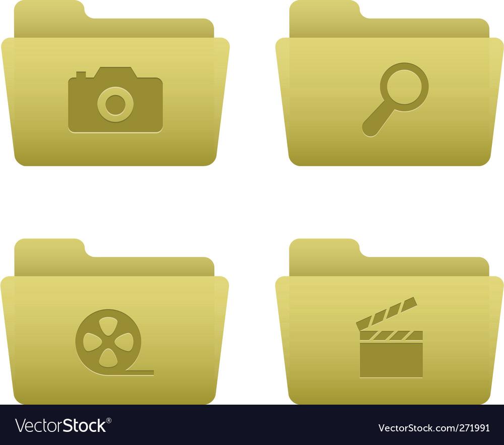 Media icons vector | Price: 3 Credit (USD $3)