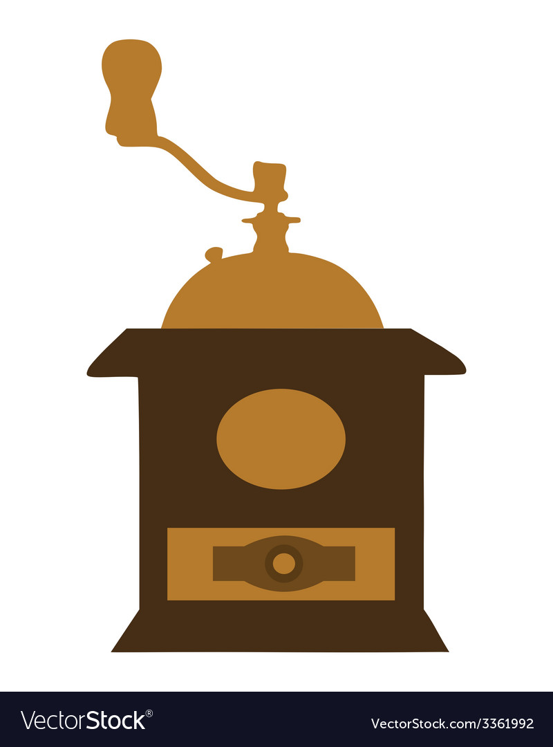 Old coffee mill vector | Price: 1 Credit (USD $1)