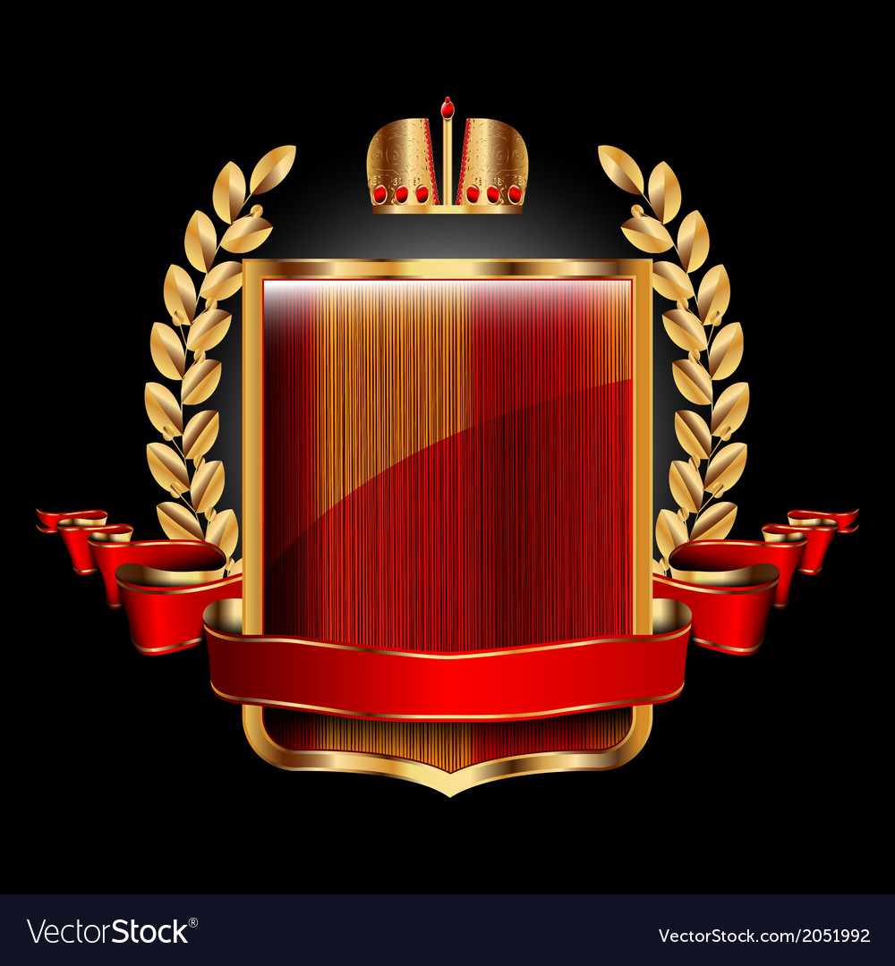Single royal label vector | Price: 3 Credit (USD $3)