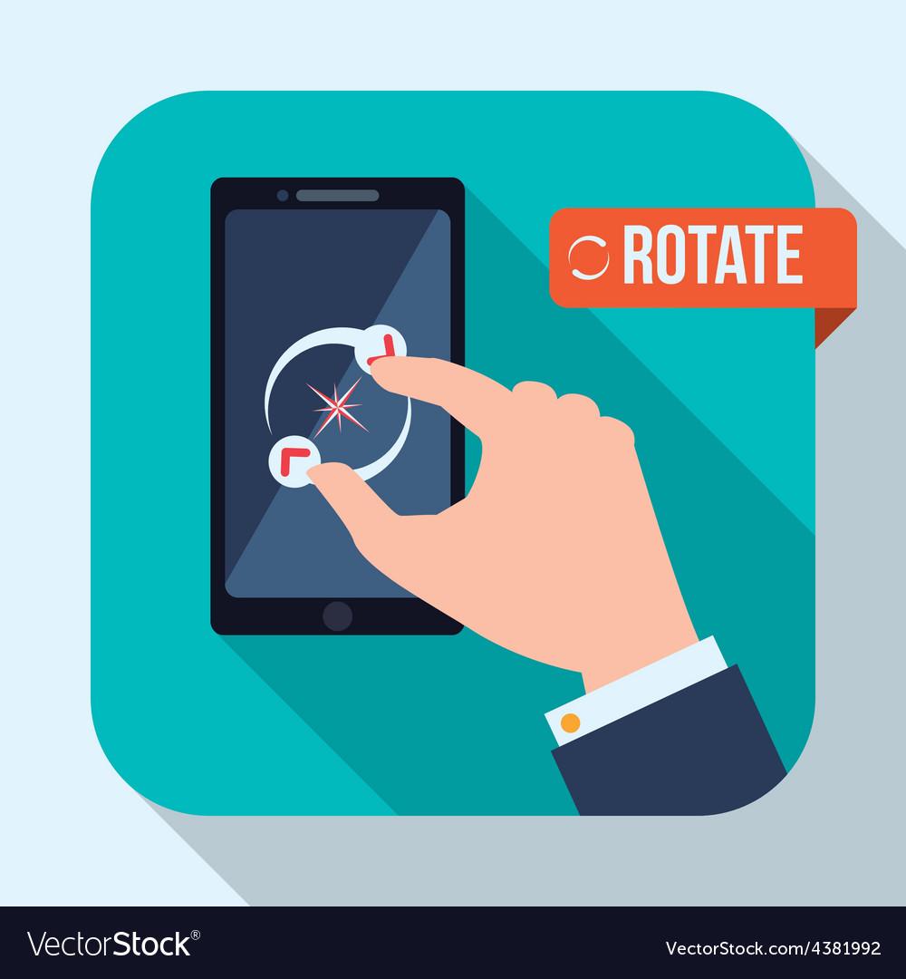 Smartphone design vector | Price: 1 Credit (USD $1)