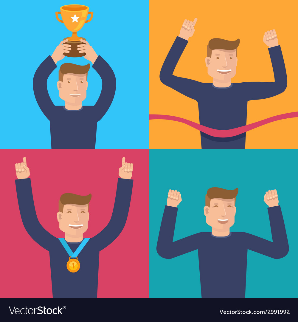 Winners vector | Price: 1 Credit (USD $1)