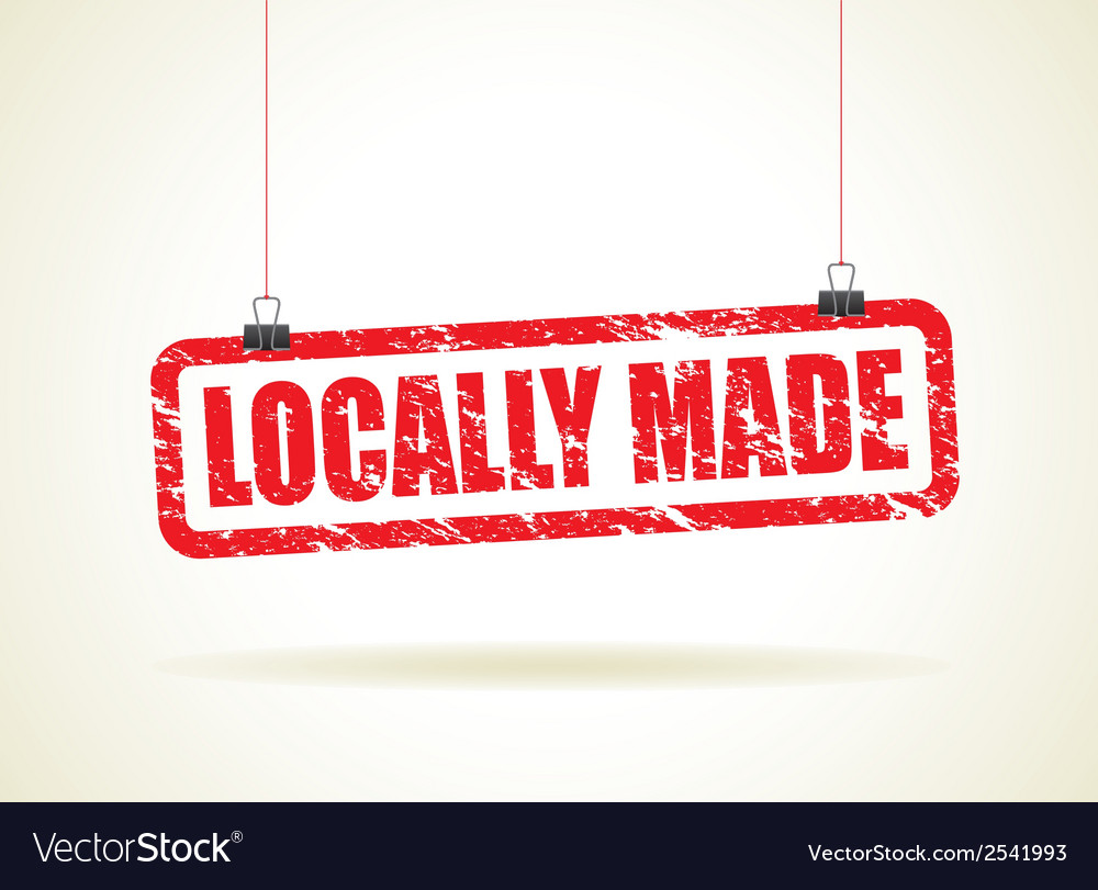 Locally made red vector | Price: 1 Credit (USD $1)