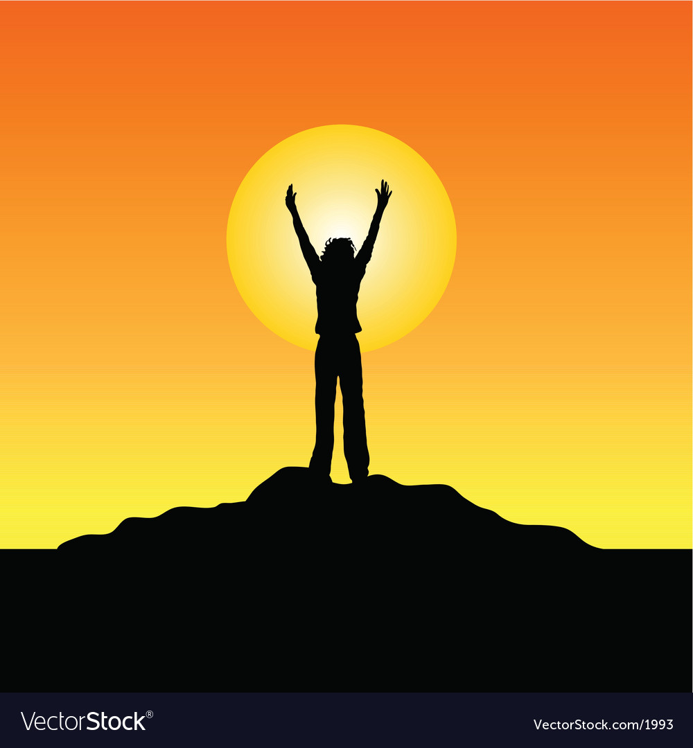 Reach for the sky vector | Price: 1 Credit (USD $1)