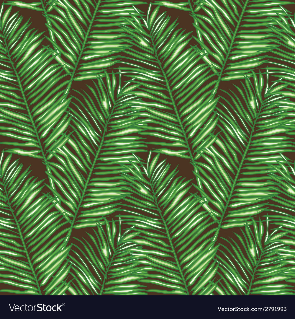 Seamless floral pattern inspired by leaves of vector | Price: 1 Credit (USD $1)