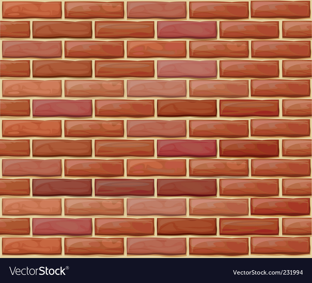 Brick wall pattern vector | Price: 1 Credit (USD $1)