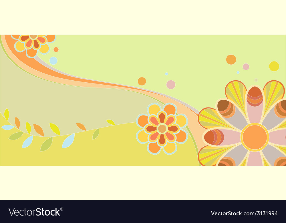 Childrens floral pattern vector   Price: 1 Credit (USD $1)