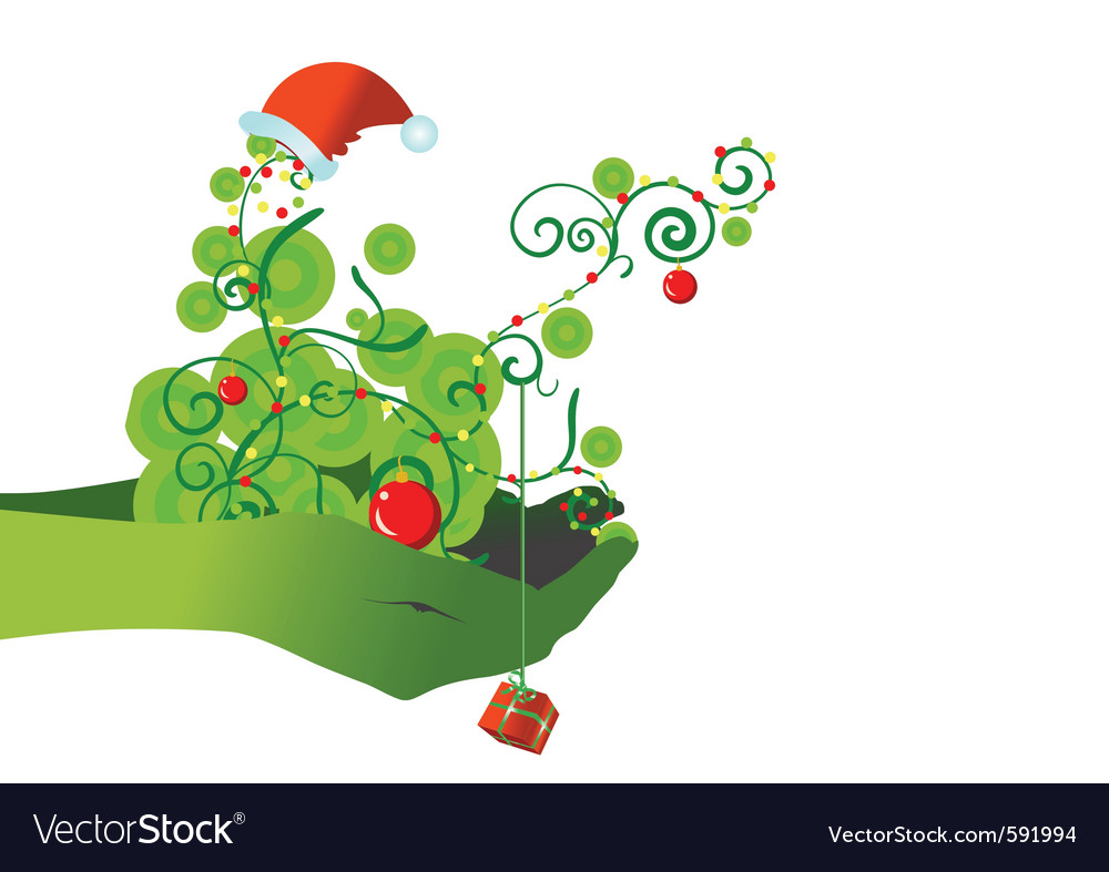 Chrismas backdrop vector | Price: 1 Credit (USD $1)