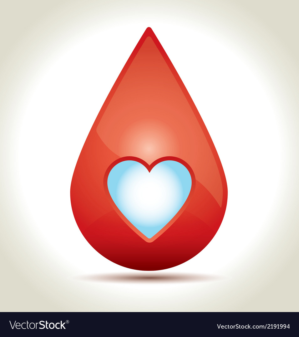 Drop of blood vector | Price: 1 Credit (USD $1)