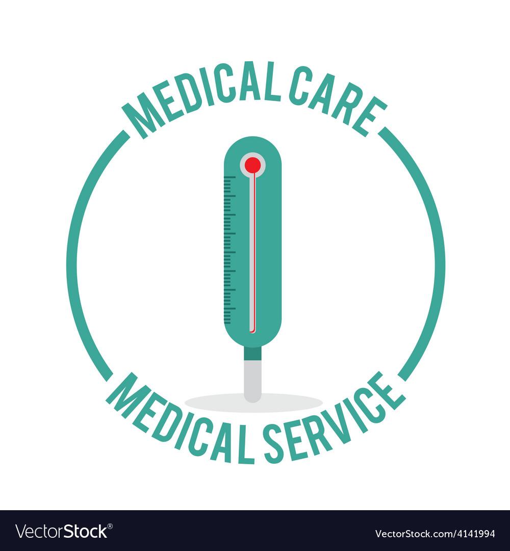 Medical care design vector | Price: 1 Credit (USD $1)