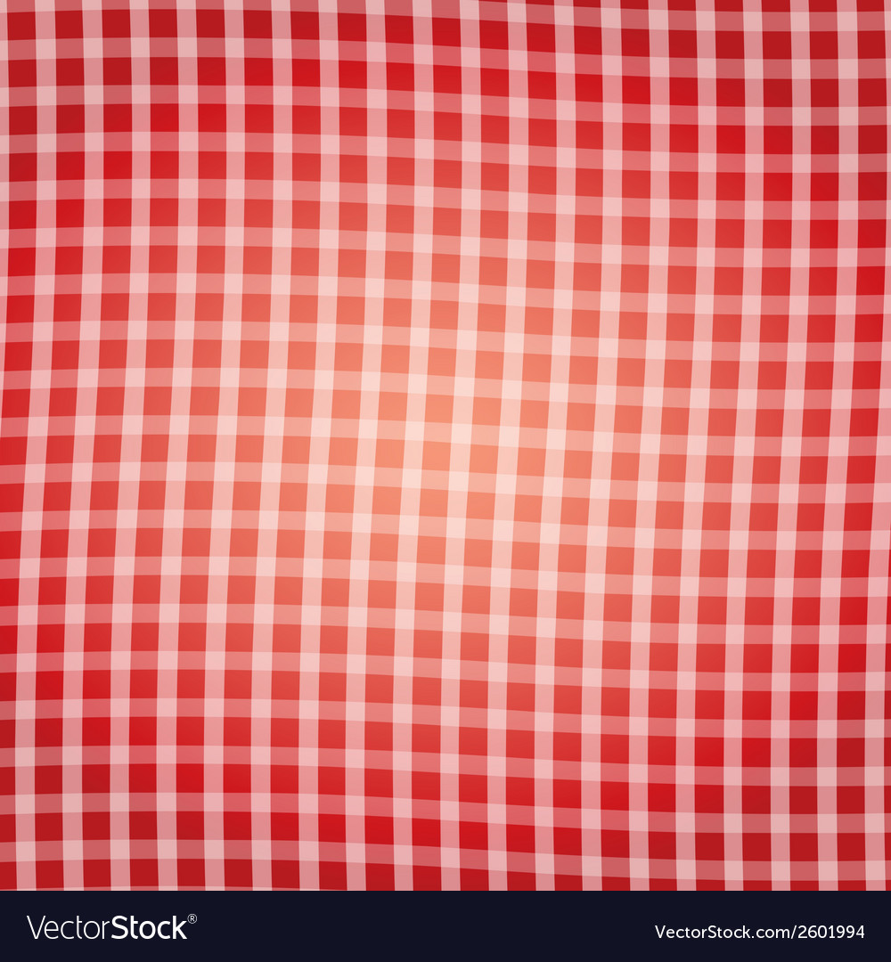 Red tartan pattern background vector | Price: 1 Credit (USD $1)
