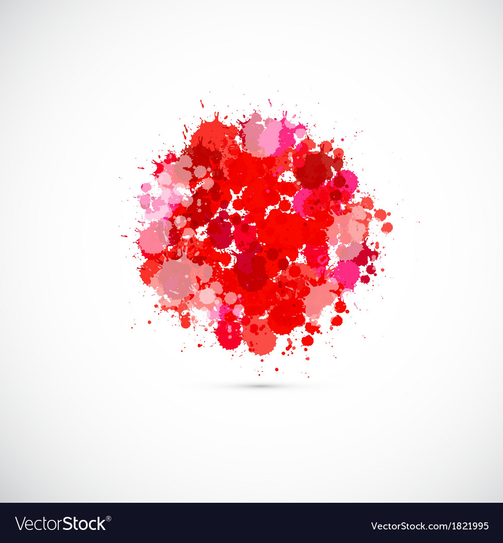 Abstract japan flag background vector | Price: 1 Credit (USD $1)