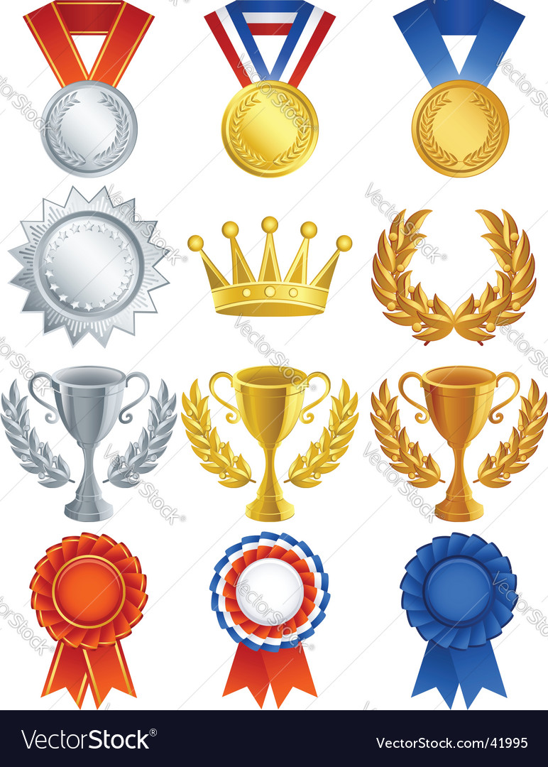Awards vector | Price: 3 Credit (USD $3)