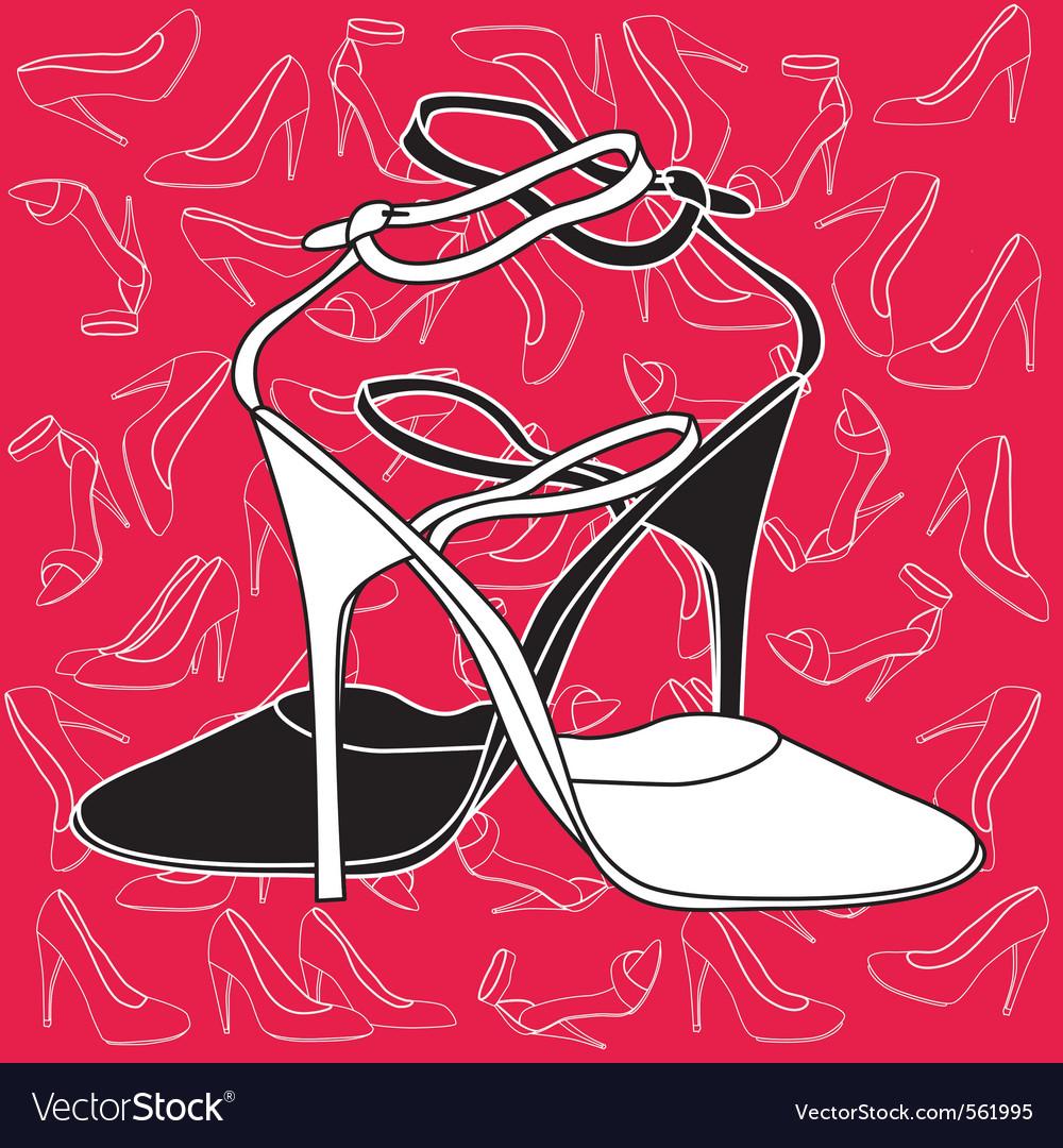 Fashion heels vector   Price: 1 Credit (USD $1)