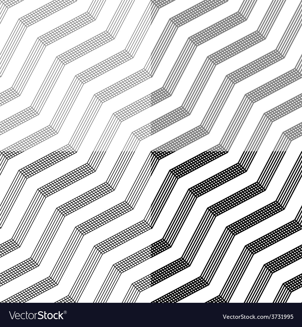 Line tile seamless black background vector | Price: 1 Credit (USD $1)