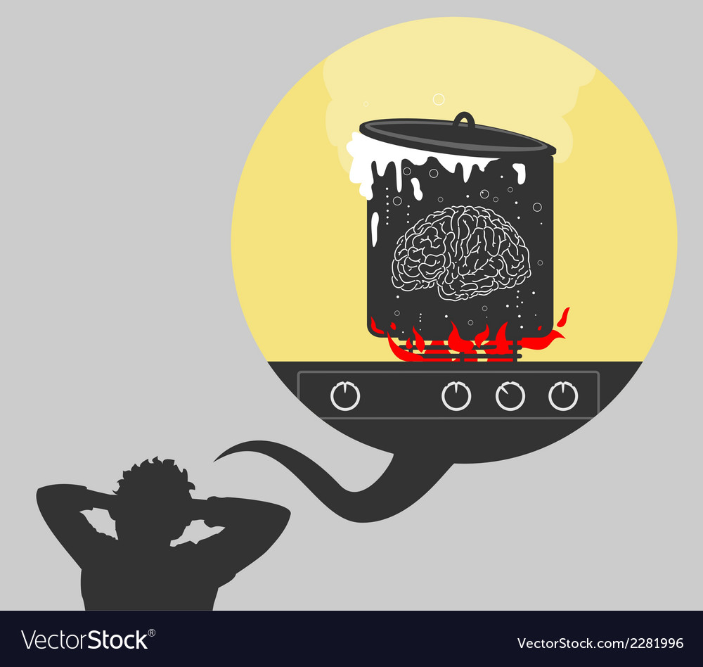 Big load on the brain vector | Price: 1 Credit (USD $1)