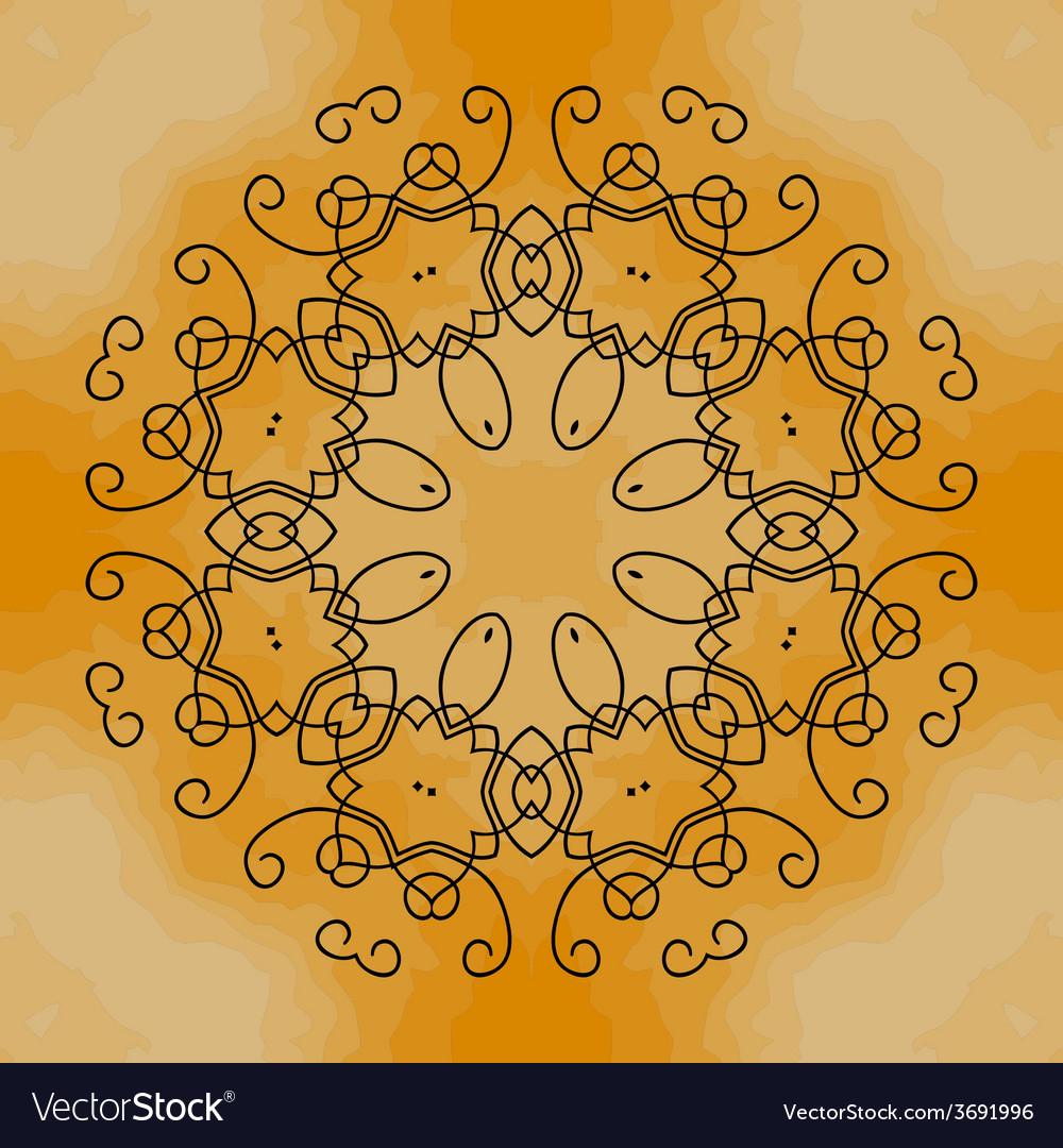 Mandala henna vector | Price: 1 Credit (USD $1)