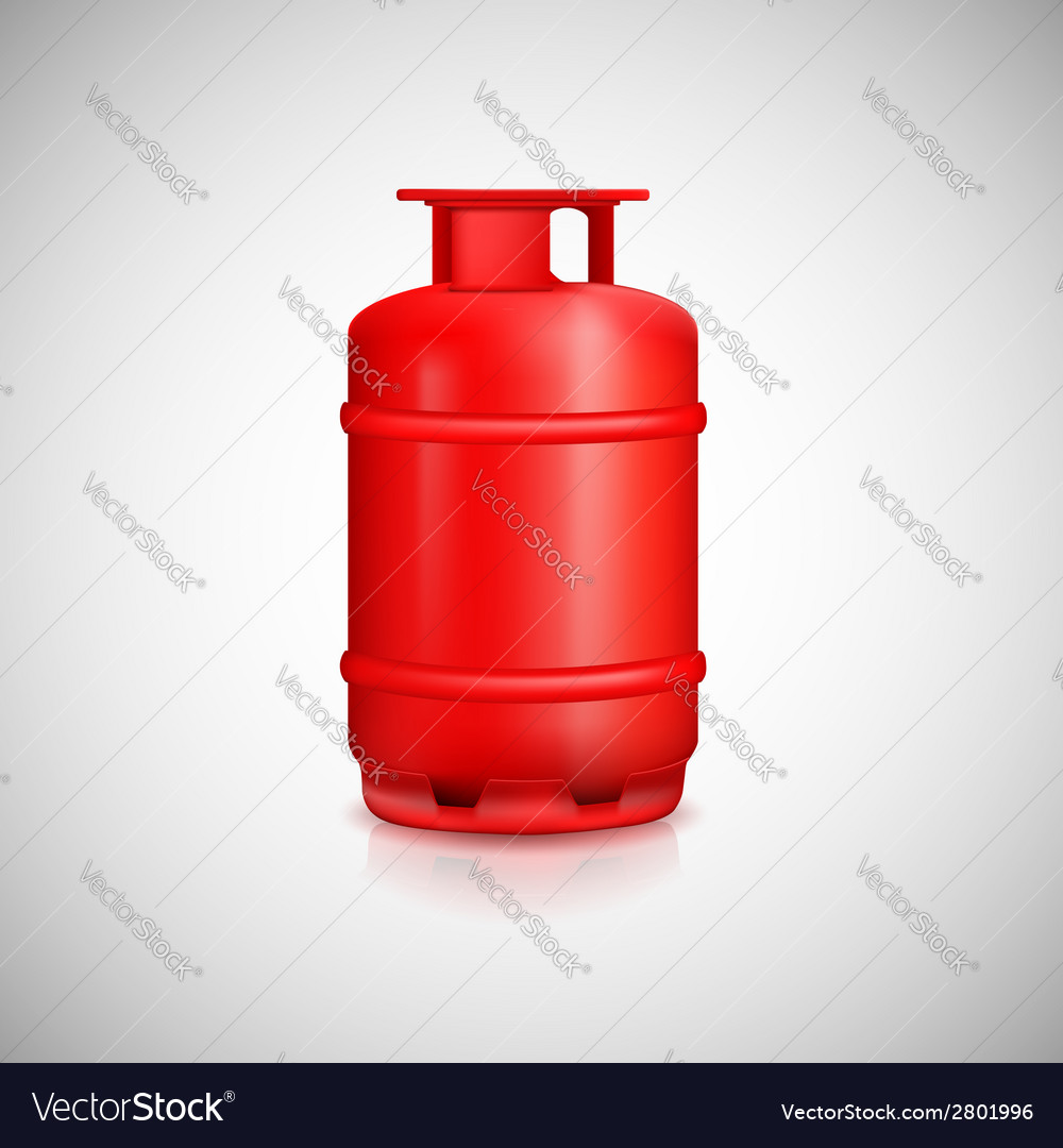 Propane gas balloon vector | Price: 1 Credit (USD $1)