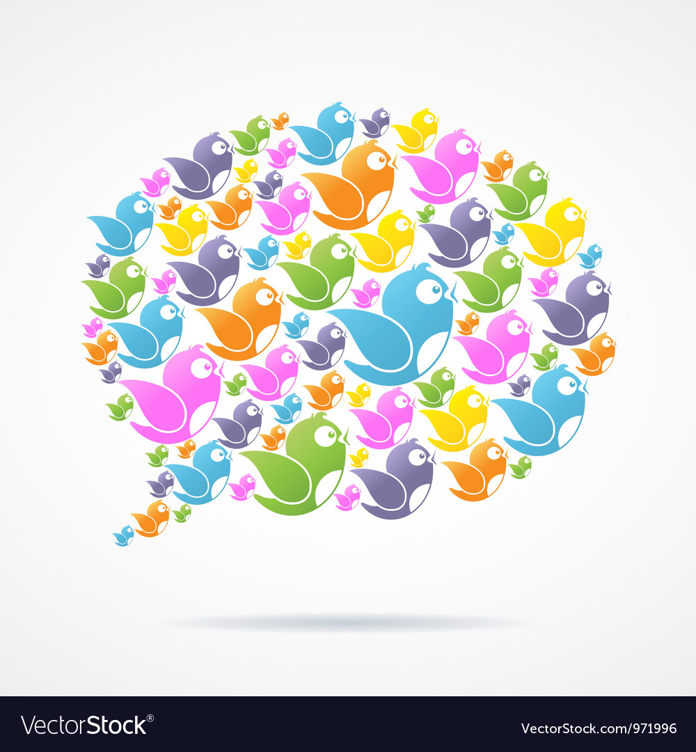 Social media communication vector | Price: 1 Credit (USD $1)