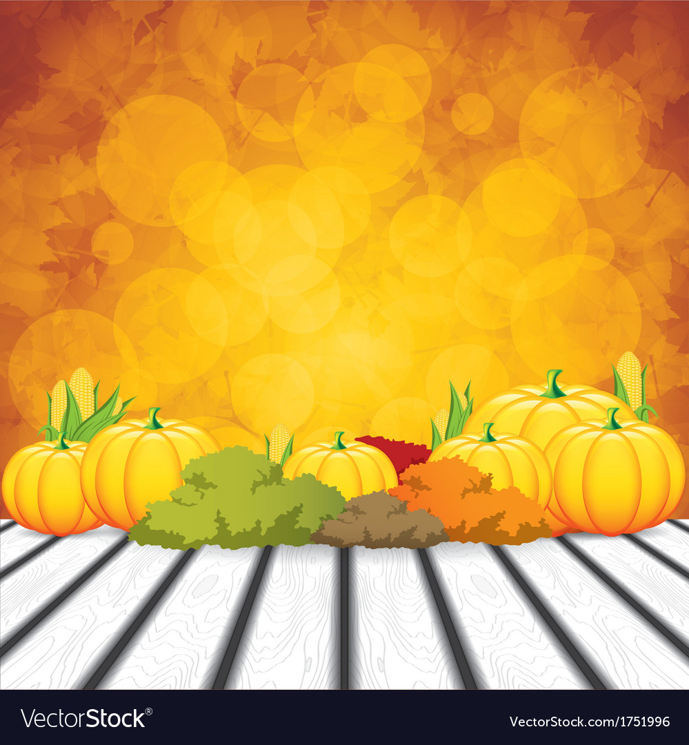 Thanksgiving background vector | Price: 1 Credit (USD $1)