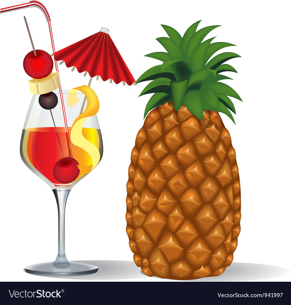 Tropical drink vector | Price: 1 Credit (USD $1)