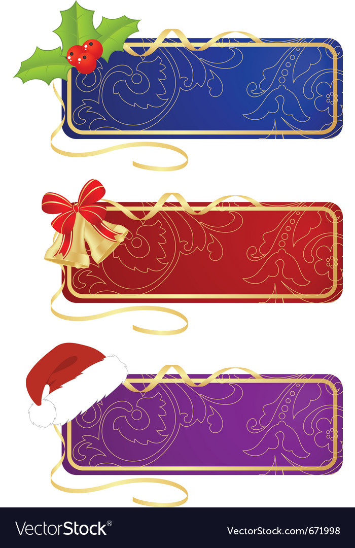Celebratory labels vector | Price: 1 Credit (USD $1)