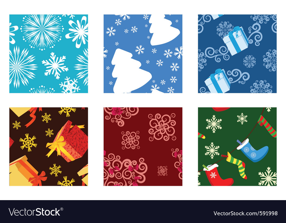 Christmas textures vector | Price: 1 Credit (USD $1)