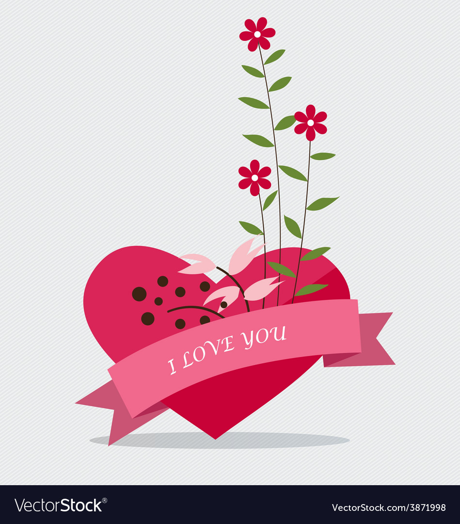 Happy valentines day wedding cards design with vector | Price: 1 Credit (USD $1)