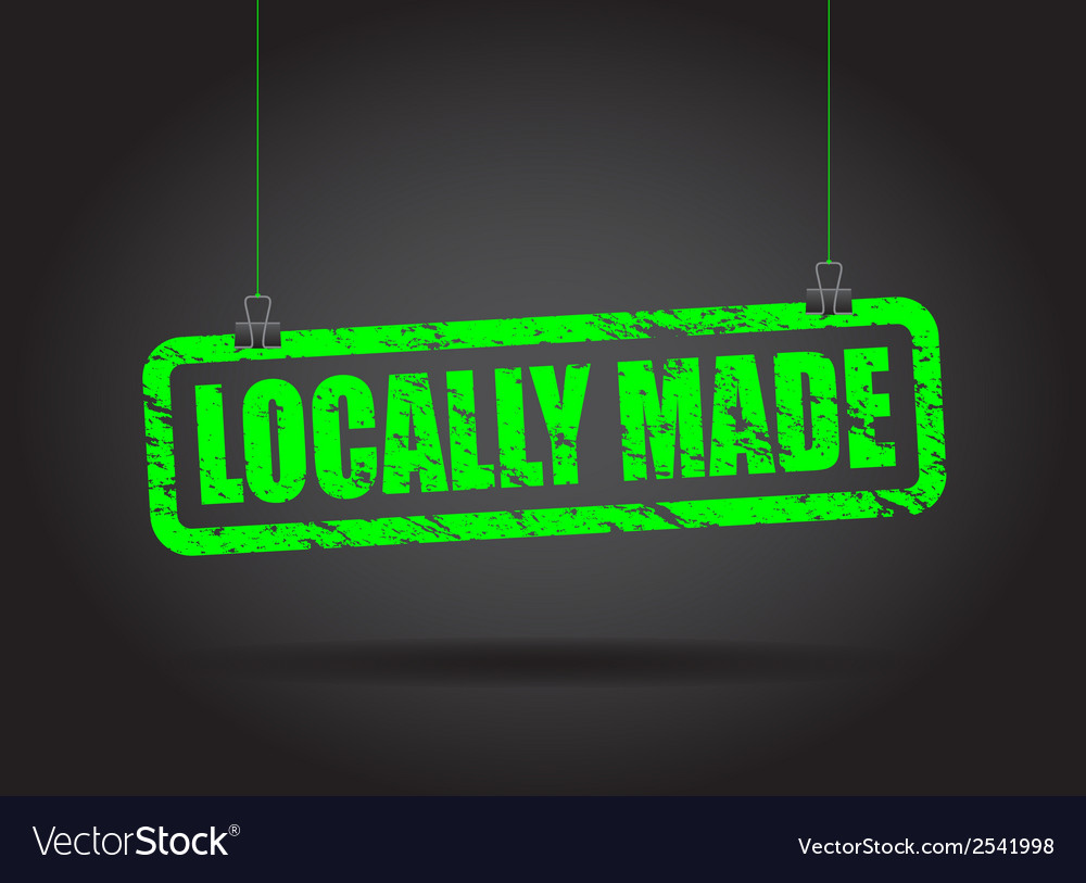 Locally made green vector | Price: 1 Credit (USD $1)